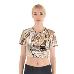Abstract Newspaper Background Cotton Crop Top