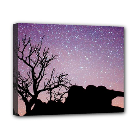 Arches National Park Night Canvas 10  X 8