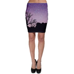 Arches National Park Night Bodycon Skirt