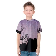 Arches National Park Night Kids  Cotton Tee