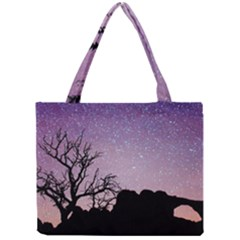 Arches National Park Night Mini Tote Bag