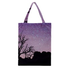 Arches National Park Night Classic Tote Bag
