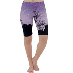 Arches National Park Night Cropped Leggings