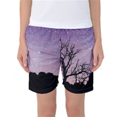 Arches National Park Night Women s Basketball Shorts