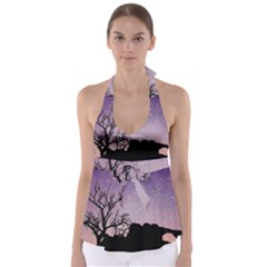 Arches National Park Night Babydoll Tankini Top
