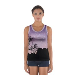Arches National Park Night Women s Sport Tank Top