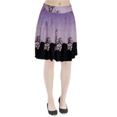Arches National Park Night Pleated Skirt