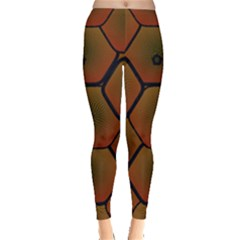 Art Psychedelic Pattern Leggings