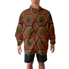 Art Psychedelic Pattern Wind Breaker (Kids)