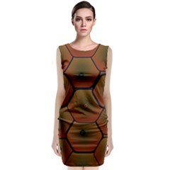 Art Psychedelic Pattern Classic Sleeveless Midi Dress