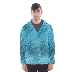 Banner Header Hooded Wind Breaker (men)