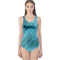 Banner Header One Piece Swimsuit