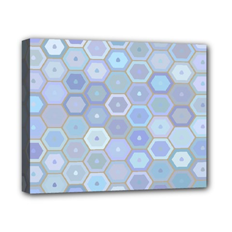 Bee Hive Background Canvas 10  X 8