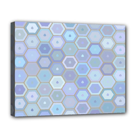 Bee Hive Background Canvas 14  X 11