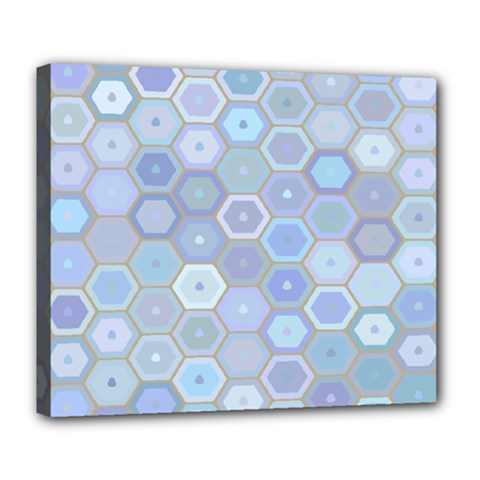 Bee Hive Background Deluxe Canvas 24  X 20