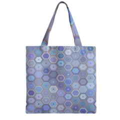Bee Hive Background Grocery Tote Bag