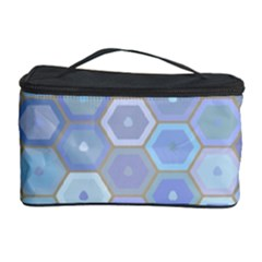 Bee Hive Background Cosmetic Storage Case