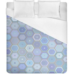 Bee Hive Background Duvet Cover (california King Size)