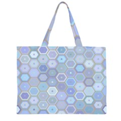 Bee Hive Background Large Tote Bag