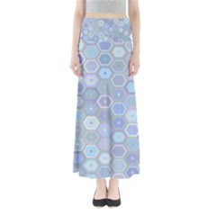 Bee Hive Background Maxi Skirts