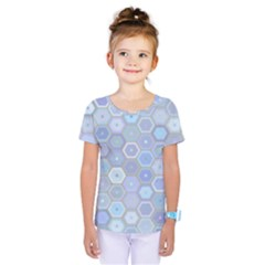 Bee Hive Background Kids  One Piece Tee
