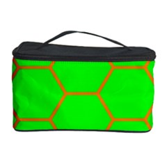 Bee Hive Texture Cosmetic Storage Case