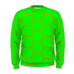 Bee Hive Texture Men s Sweatshirt