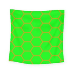 Bee Hive Texture Square Tapestry (small)