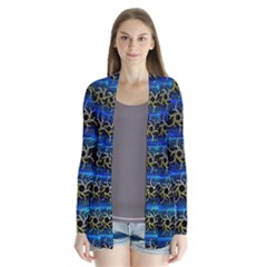 Blue Bee Hive Cardigans