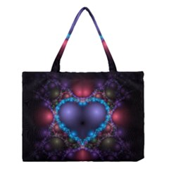 Blue Heart Medium Tote Bag