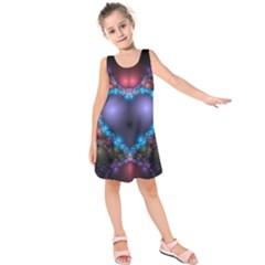 Blue Heart Kids  Sleeveless Dress