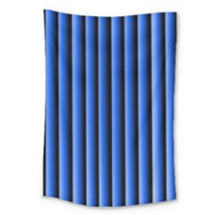 Blue Lines Background Large Tapestry