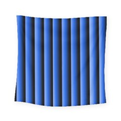 Blue Lines Background Square Tapestry (small)