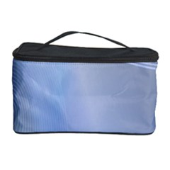 Blue Star Background Cosmetic Storage Case