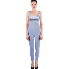 Blue Star Background Onepiece Catsuit