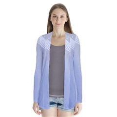 Blue Star Background Cardigans