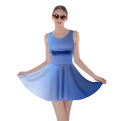 Blue Star Background Skater Dress