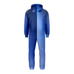 Blue Star Background Hooded Jumpsuit (kids)