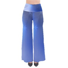 Blue Star Background Pants
