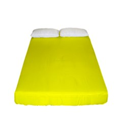 Yellow Color Fitted Sheet (full/ Double Size)