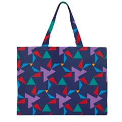 Areas Of Colour Square Relative Neutrality Large Tote Bag