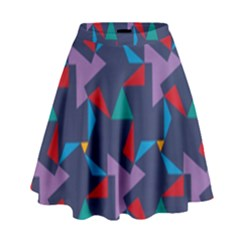 Areas Of Colour Square Relative Neutrality High Waist Skirt