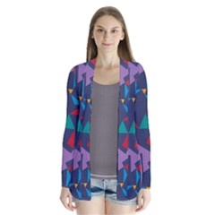Areas Of Colour Square Relative Neutrality Cardigans