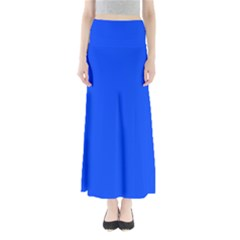 Blue Color Maxi Skirts
