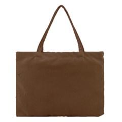 Brown Color Medium Tote Bag