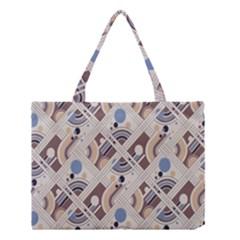 Brown Medium Tote Bag