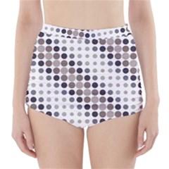 Circle High-Waisted Bikini Bottoms