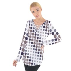 Circle Women s Tie Up Tee