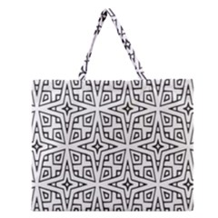 Coloring Star Squarest Zipper Large Tote Bag