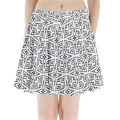 Coloring Star Squarest Pleated Mini Skirt